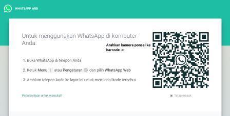 cara pakai whatsapp web