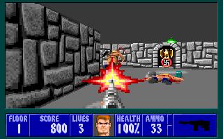 Super Adventures In Gaming Wolfenstein 3d Ms Dos