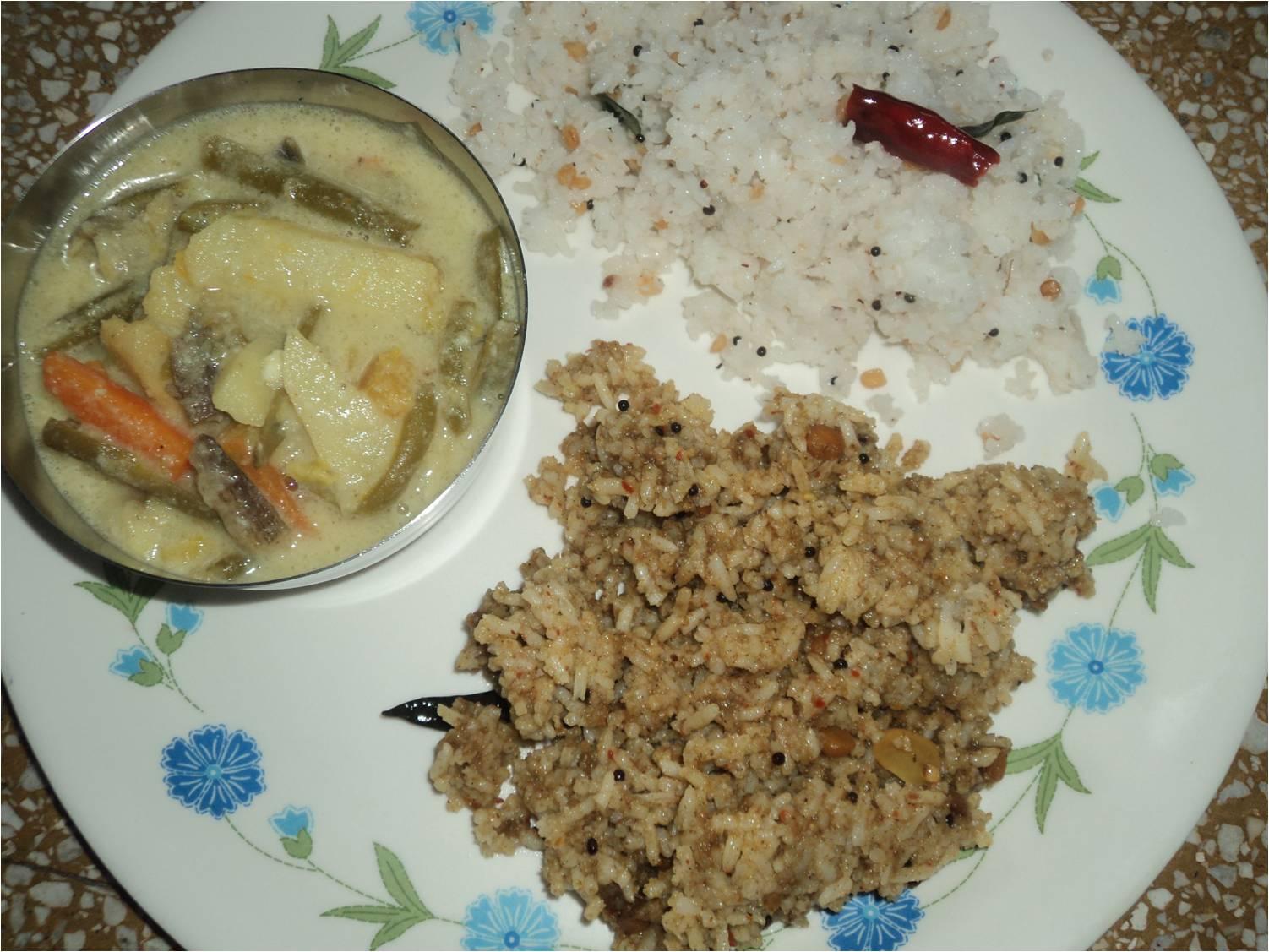 how to make tamarind rice in tamil language
