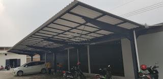 jasa kanopi untuk tempat parkir surabaya, sidoarjo, dan sekitarnya