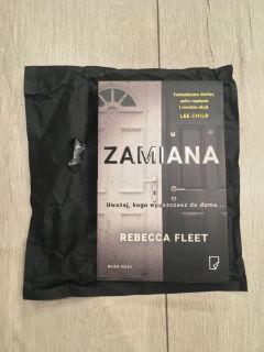 "egzemplarz recenzencki, ""Zamiana"" Rebecca Fleet, fot. paratexterka ©"
