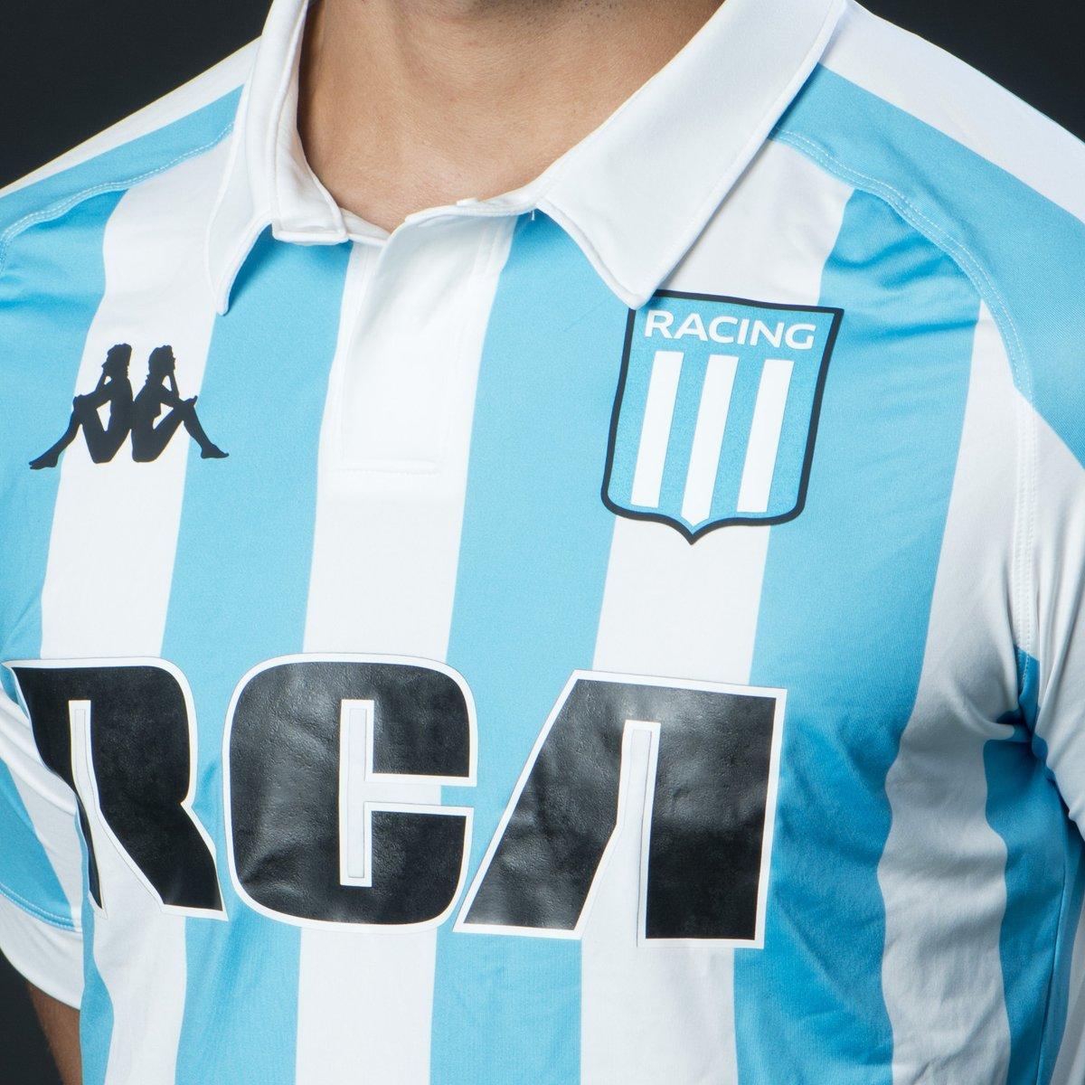 08b33c84b5 Kappa lança a nova camisa titular do Racing Club - Show de Camisas