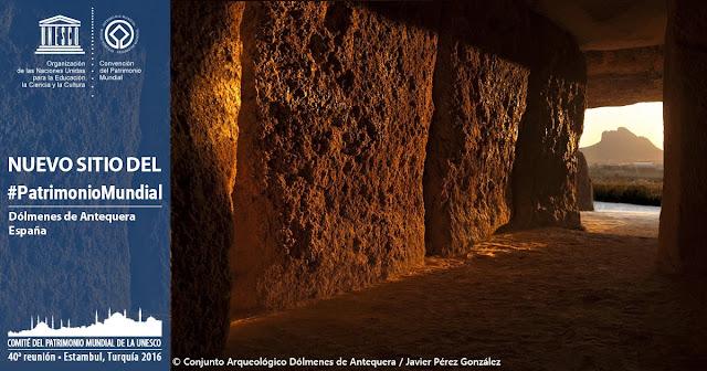 Dólmenes de Antequera: Patrimonio Mundial