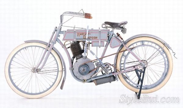 Xe cổ Harley Davidson 1906 Model 2