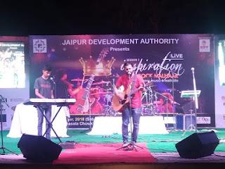 Jaipur Development Authority will organize Inspiration Rock Malhar at Amphitheater (Masala Chowk), Ramnivas Bagh, Jaipur
