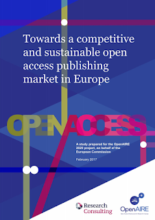 Towards a competitive and sustainable open access publishing market in Europe