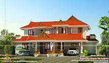 Kerala Traditional Style 4bhk House - Home Design