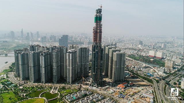 Hình ảnh tòa tháp Landmark 81