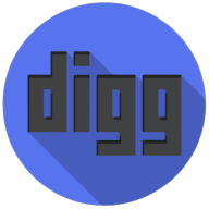 digg colorful button