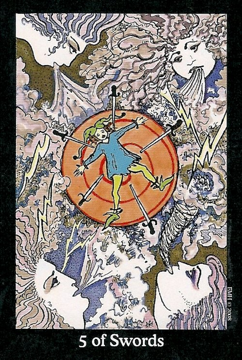 Tarot Notes: 5 Of Swords: Astrological Associations