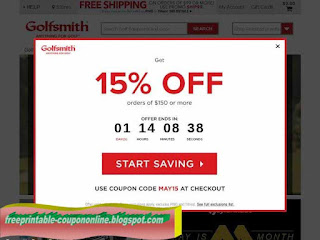 photo about Golfsmith Printable Coupons called Golfsmith discount coupons inside shop printable - Mattress tub and further than