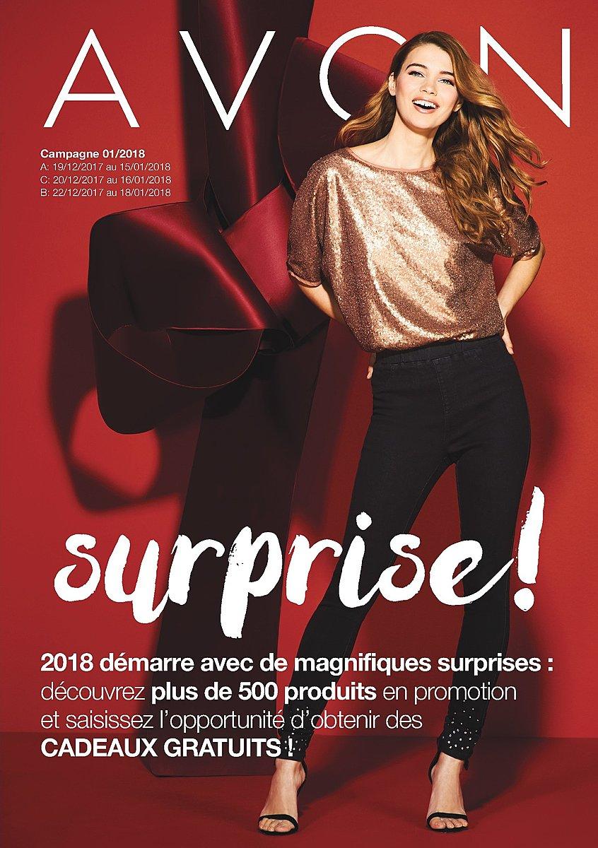 Catalogue Avon Maroc Du 22 Décembre Au 18 Janvier 2018 Lecatalogue