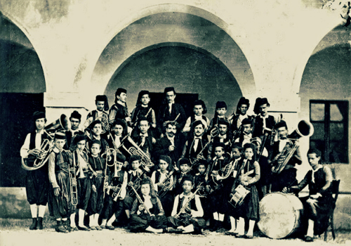 orkestra bandra e pare frymore ne shkoder 1878