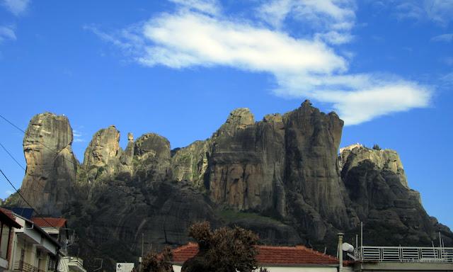 Meteora_vistas desde Kalambaka
