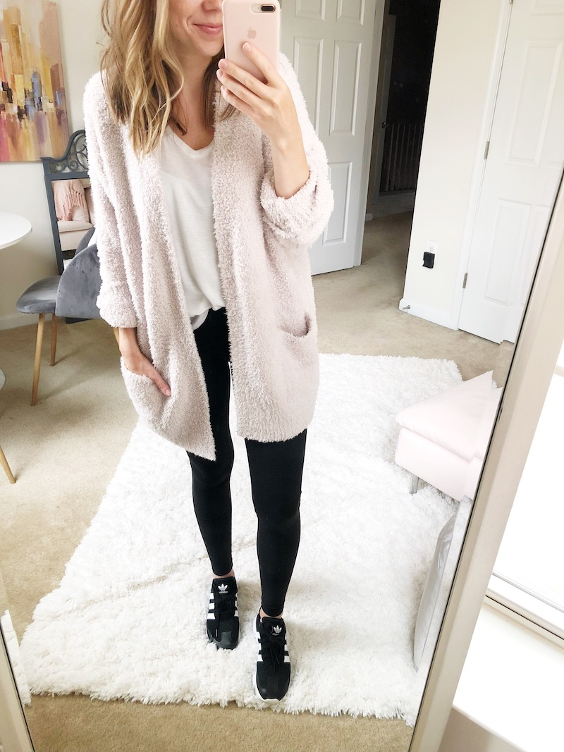 Nsale Update What Im Keeping Lauren Elizabeth Bloglovin Ghirardelli Heels Celeste Beige 39 Barefoot Dreams Cardigan Size S M Color Almond This Is The Fifth Sweater Wrap That Ive Purchased From And It Might Be My