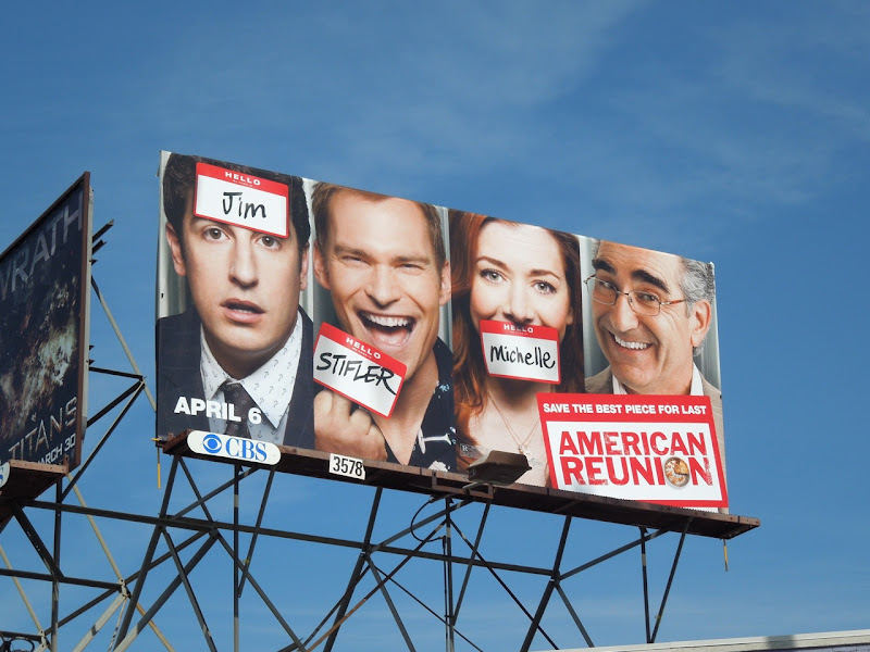 American Reunion billboard