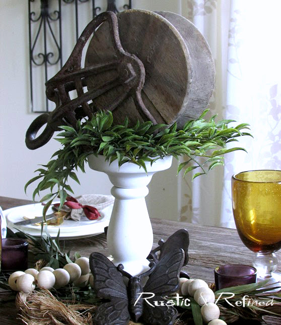 Autumn Table Setting Ideas
