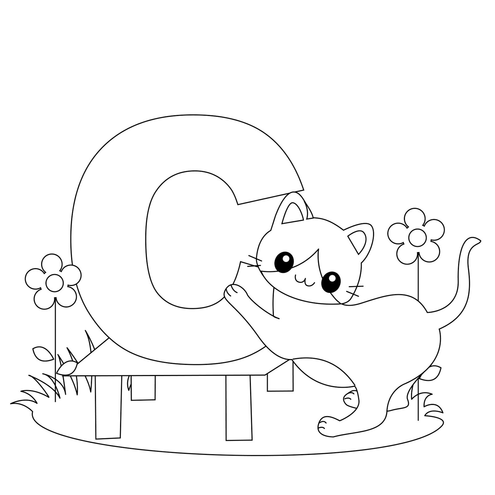 alphabet coloring pages a z virtren com