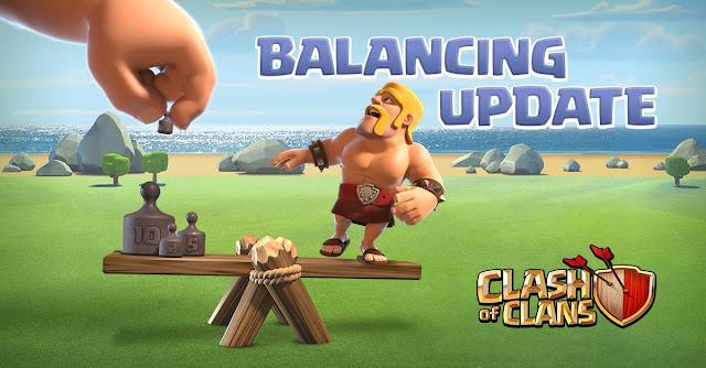 Nova Atualização e Balanceamento