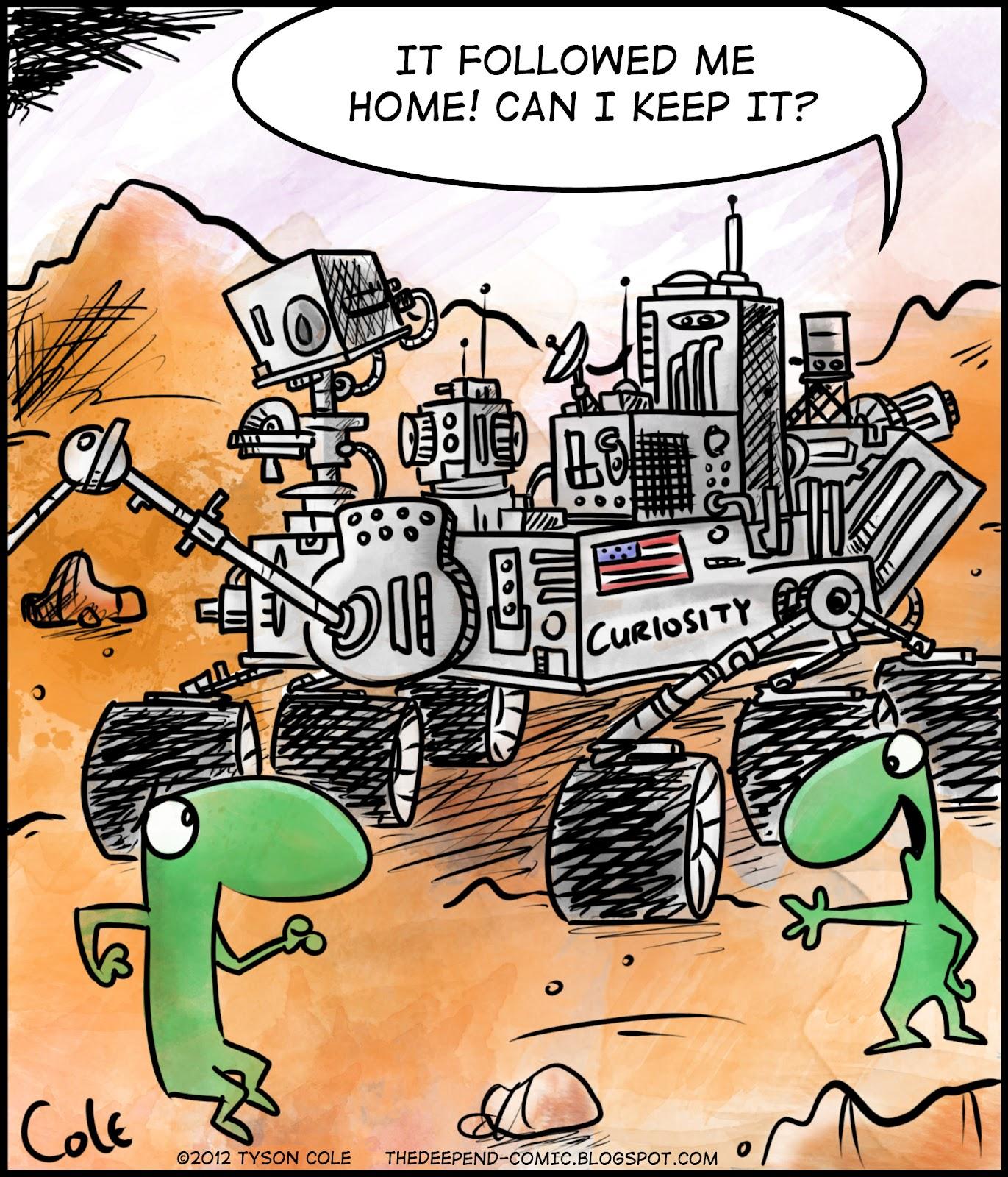 mars rover comic funny - photo #21