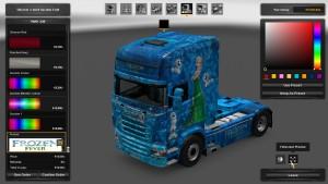 Frozen Fever Skin for Scania RJL