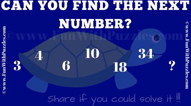 It is the Simple Puzzle in whic one has to find the next number in the series