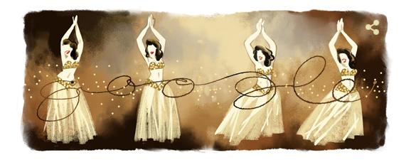 جوجل يحتفل بالذكري الـ 93 لميلاد سامية جمال