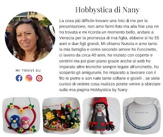 Biografia di Hobbystica by Nany - Nunzia Chirivino