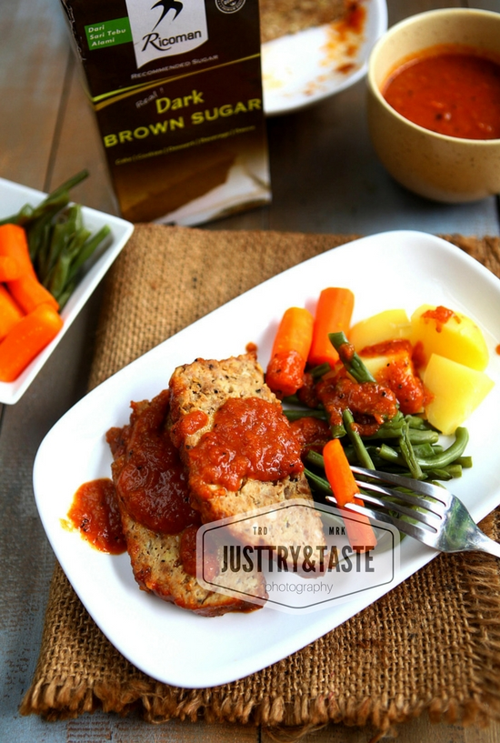 Resep Meatloaf dengan Barbecue Sauce