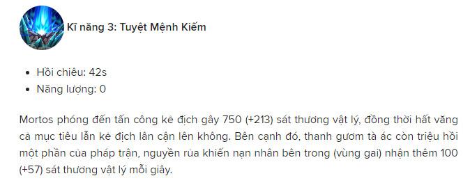 Cach choi tuong mortos