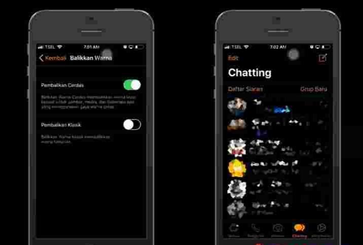 Cara gampang mengaktifkan mode dark pada Whatsapp di iPhone 3