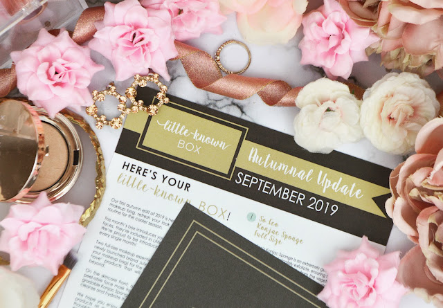Little-Known Box September 2019 - The 'Autumnal Update' Edit Lovelaughslipstick Blog Review