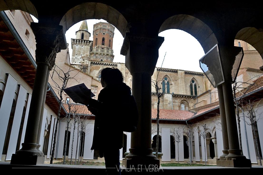 Claustro Catedral de Tudela, Navarra. Viajaetverba