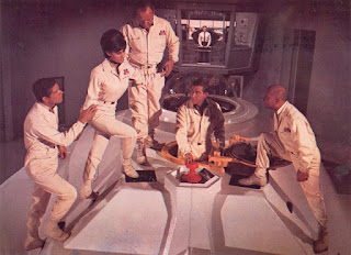 Fantastic Voyage 1966 cast boarding ship Proteus
