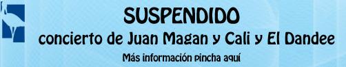 Suspendidos los conciertos de de Juan Magán y Cali y El Dandee en las fiestas de las Rozas