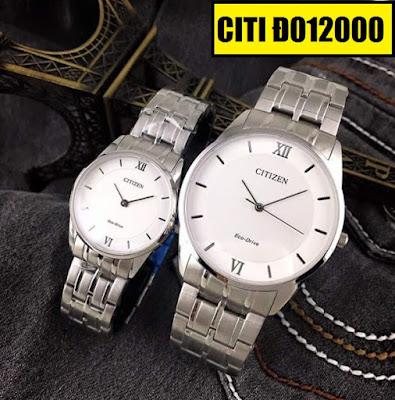Đồng hồ cặp đôi Citizen Đ012000