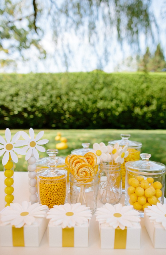 DIY Fun Daisy Birthday Party Ideas - BirdsParty.com