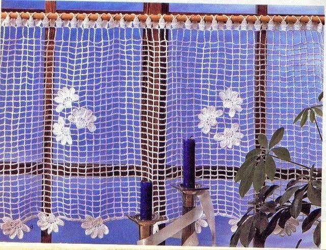 Patrones de Cenefa muy delicada al crochet
