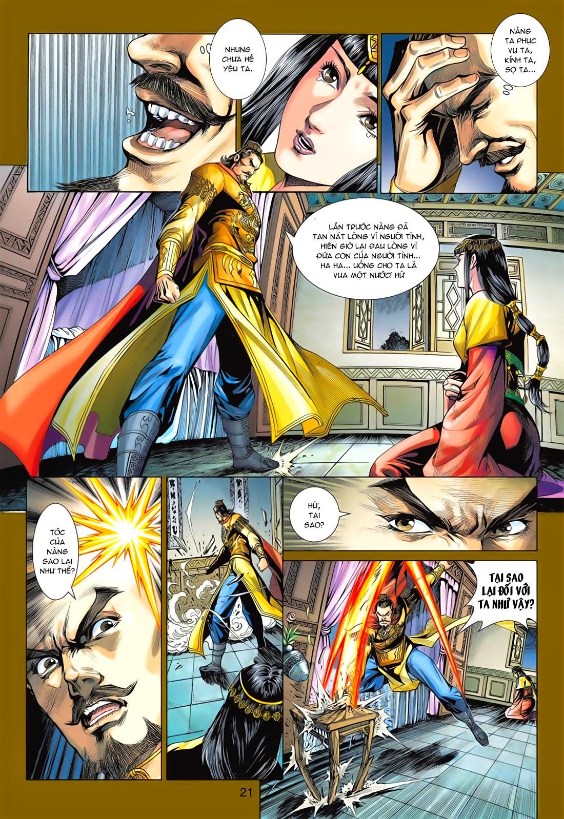 Anh Hùng Xạ Điêu anh hùng xạ đêu chap 78: sát anh trang 21