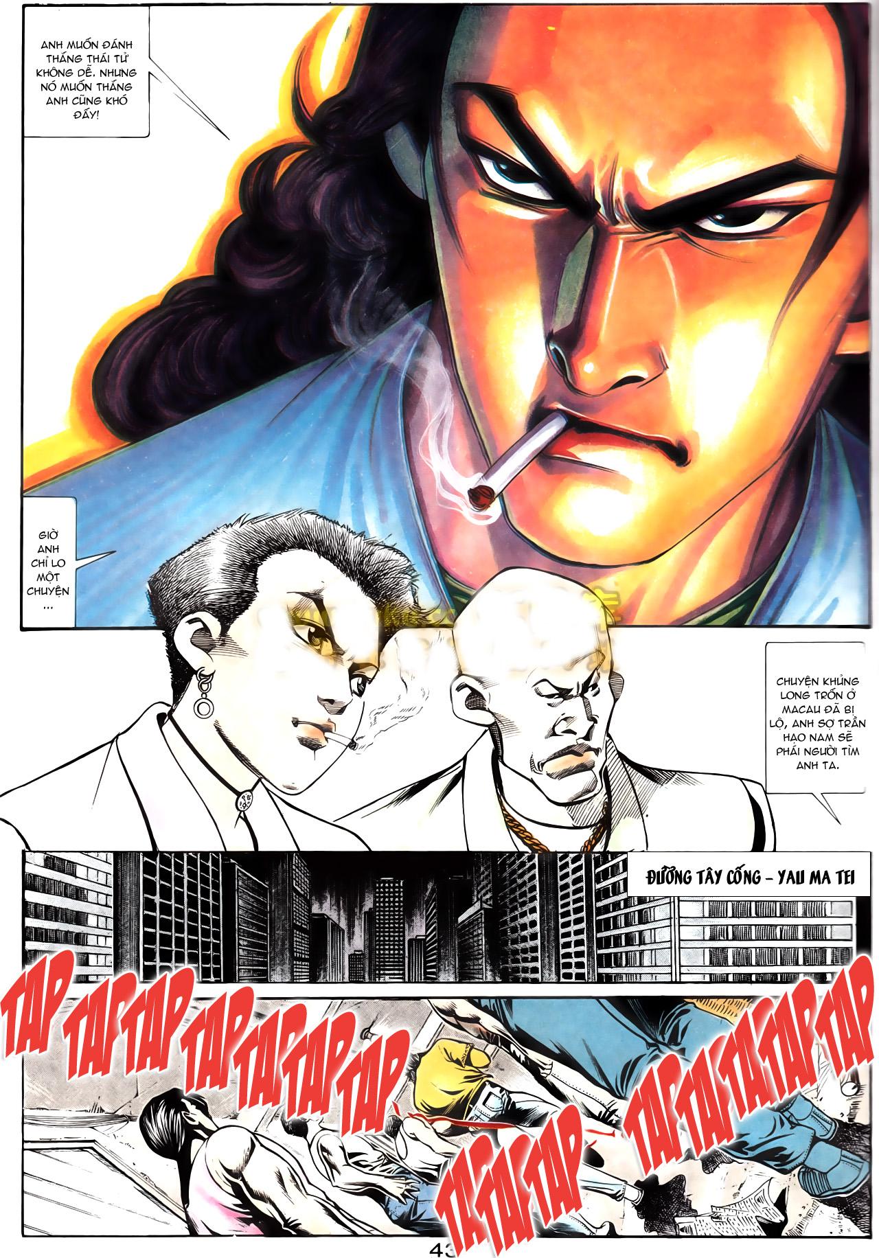 Người Trong Giang Hồ chapter 164: hạo nam chiến quạ đen trang 15