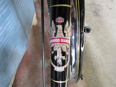 Bianchi bicycle restoration