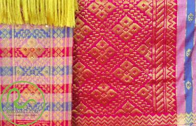 motif Tenun Songket Melayu