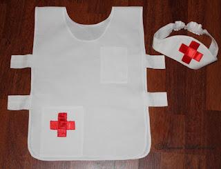 otro ejemplo de disfraz de enfermera aV