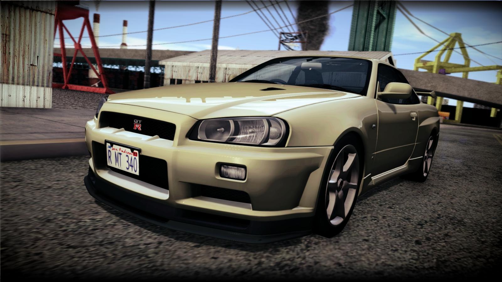 2002 Nissan Skyline GTR (R34)