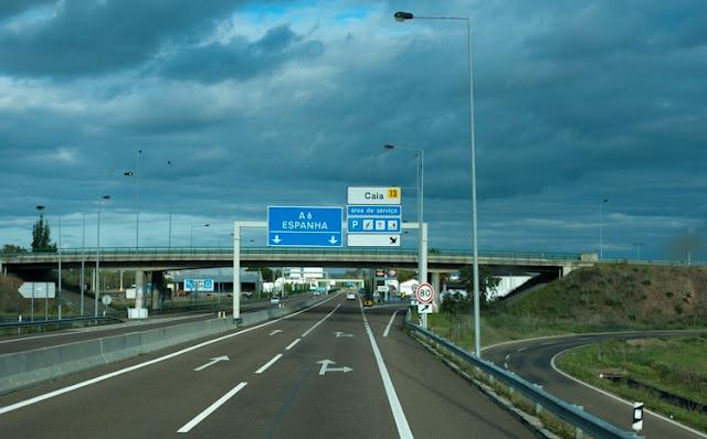 Viagem de carro de Lisboa à Madri