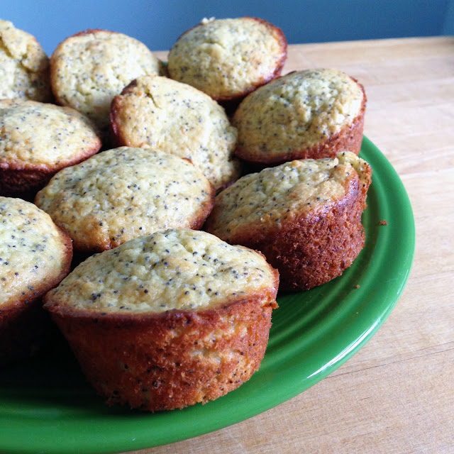 muffins, lemon poppy seed muffins, baking, Anne Butera, My Giant Strawberry