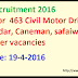 MES Recruitment 2016 Apply for  463 Civil Motor Driver, Chowkidar, Caneman, safaiwala and other vacancies