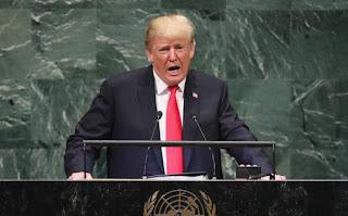 Ông Trump phát biểu