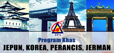 Permohonan Biasiswa JPA Program Khas Jepun Korea Jerman Perancis 2018