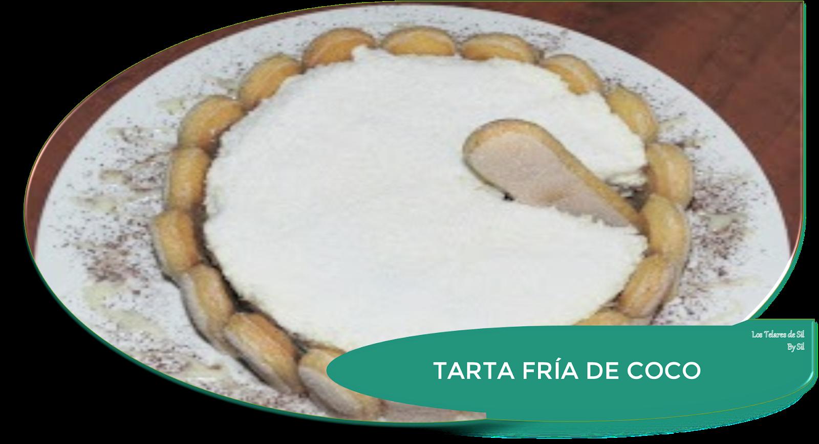 TARTA FRÍA DE COCO